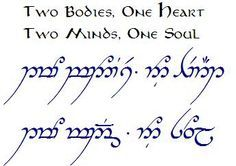 lord of the rings elvish translator - Google Search
