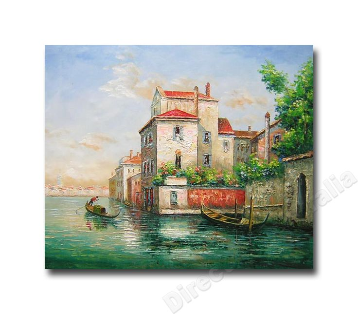 Aqua , Mediterranean Canvas Art & Oil Paintings for Styling Living Room.  Price: $149.00,   - Direct Art Australia ,   http://www.directartaustralia.com.au/