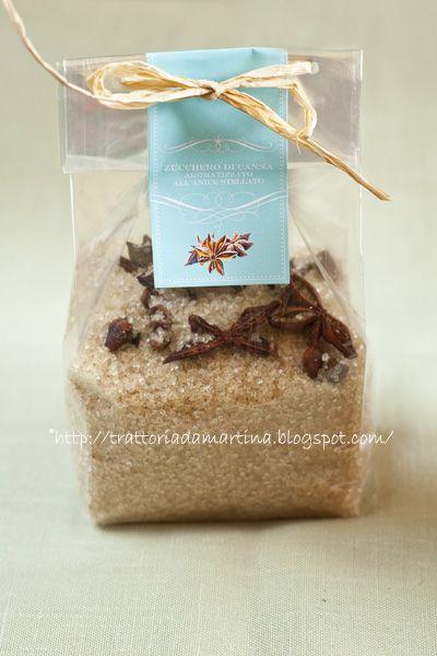 Un'altra idea per un regalino di Natale: lo zucchero all'anice stellato - Trattoria da Martina - cucina tradizionale, regionale ed etnica
