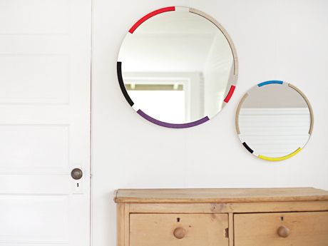 Danielle Bufalini's Favorite Things | Everywhere - DailyCandy: Decor, Interior, Round Mirrors, Grains, Colors, Bound Mirrors