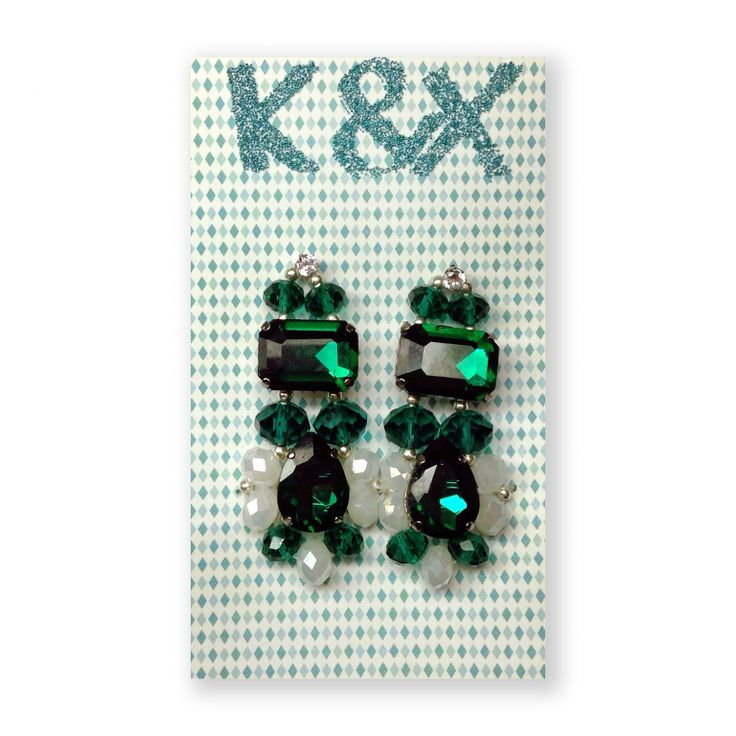 серьги Roma Green2  #kxroma #green #accessories #odessa #handmade #luxury #fashion #style #kxfashion #jewelry #fashion #earrings #glam