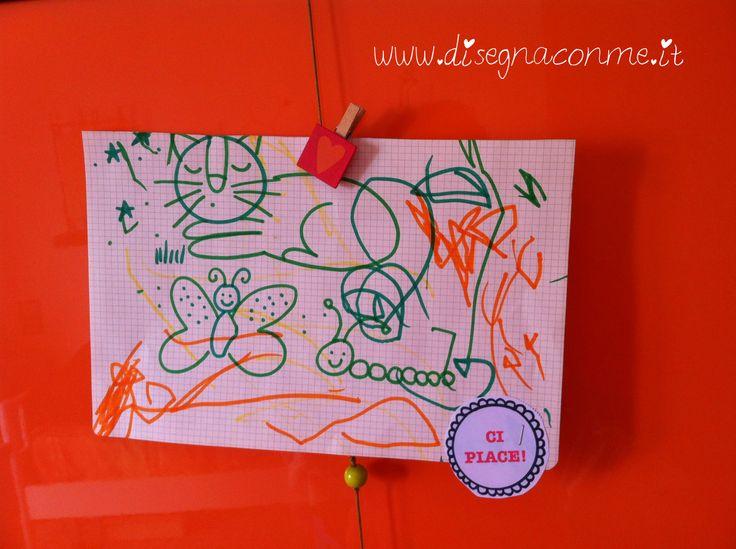 """Abbiamo premiato il nostro disegno con una bella medaglia! Tratto dall'album """"Medaglie per disegni"""" su www.disegnaconme.it.....#disegnaconme"""