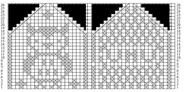 knitting chart kuvio - Google otsing