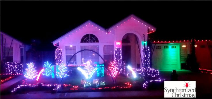 this display was programmed by synchronized christmas we created some images from the video the