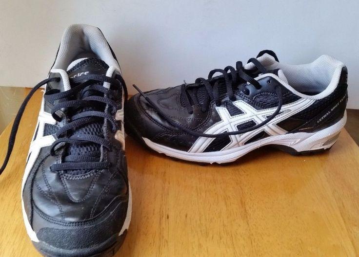 Asics Gel Lethal Shot Turf Cleats PGuard  Black Field Shoes P259Y Mens sz 7 #Asics #Cleats