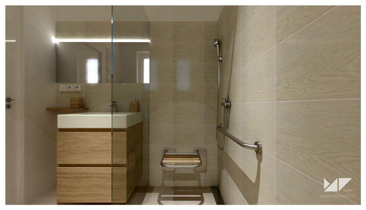 senior bathroom   bathroom VA, Slovakia   MP STUDIO