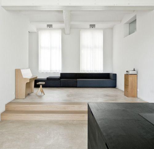Beautiful Interieur Aus Beton Und Aluminium Urban Wohnung Ideas ...