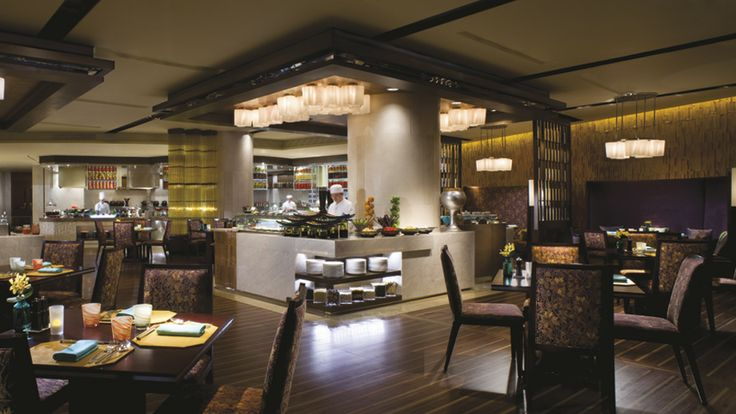center of attention island    The Ritz-Carlton, Shenzhen - Flavorz All Day Dining Restaurant