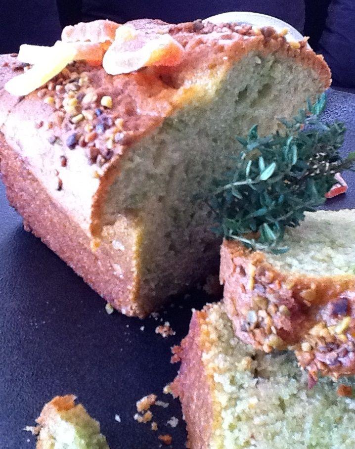 Thyme and Mango Savoury Plumcake