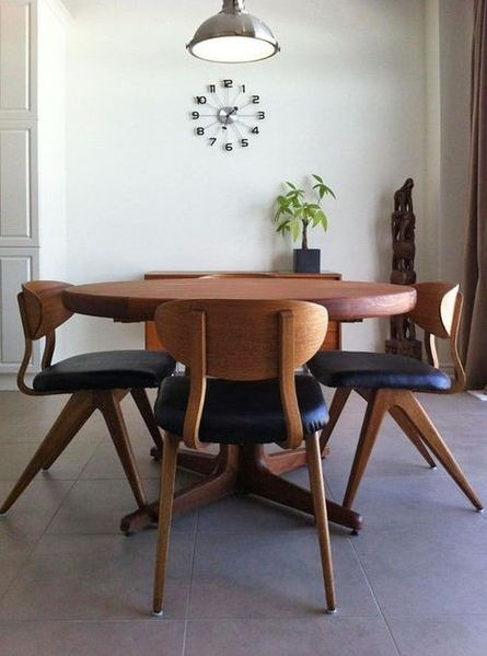 Danish Modern Dining Set. The designer may be Kai Kristiansen, I'm not sure.