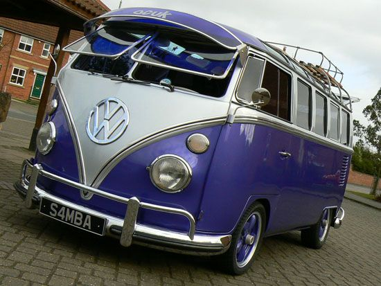 cool VW with shades on ;)  LOVE THIS BUS!