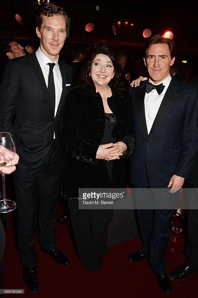 ニュース写真 : Benedict Cumberbatch, Kate Bush and Rob Brydon...