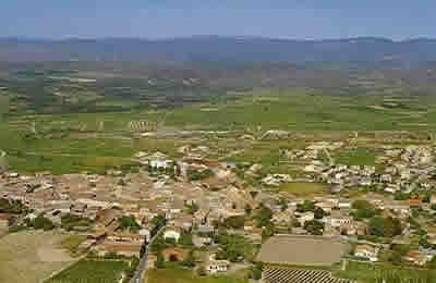 View over St Genies de Fontedit