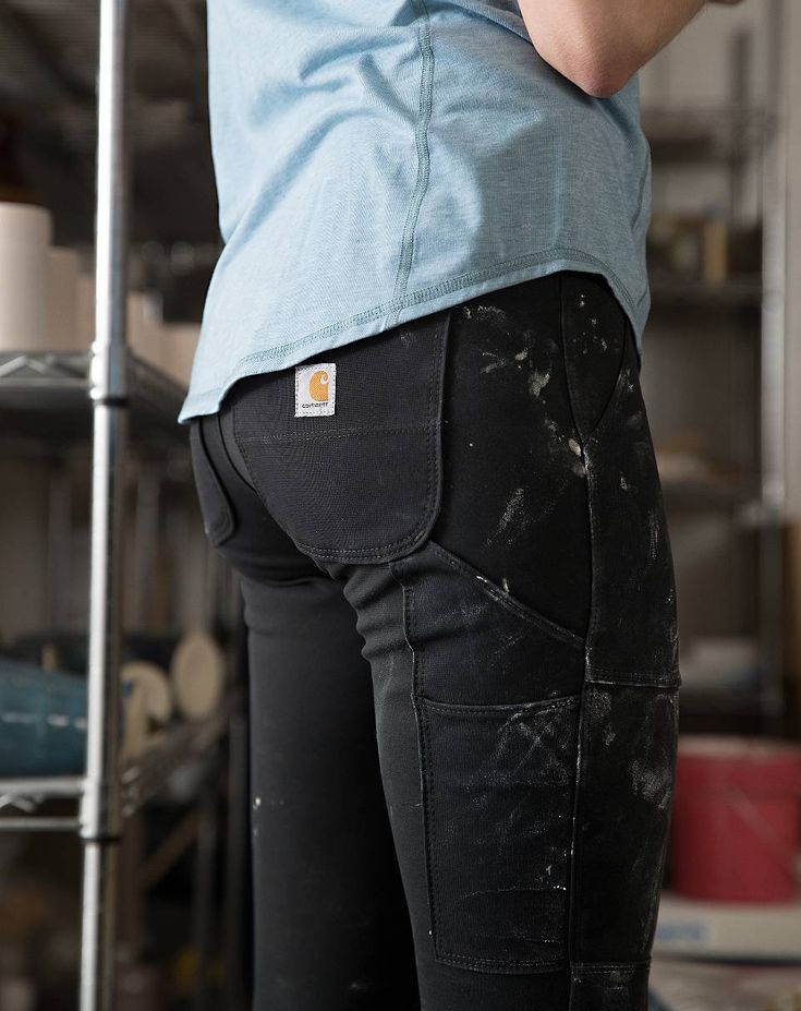 Carhartt 102482 - Women's Force® Utility Knit Pant 3
