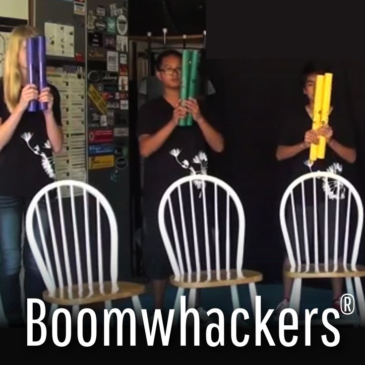 ► Boomwhacker® Adventures with Teen Pulse™