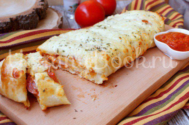 Пицца-рулет Стромболи