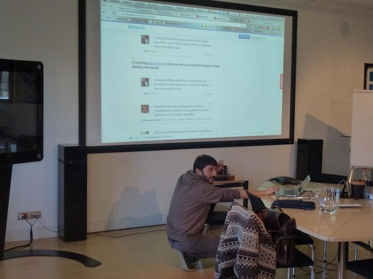 #SocialHyphen - Base Training on Social Media Communication