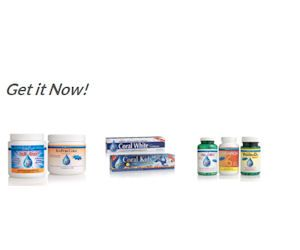 Free Coral Supplements & Toothpaste Samples