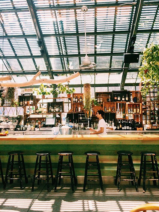 the l.a. guide. / sfgirlbybay  the commissary restaurant atop the line hotel in korea town