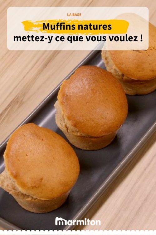 Muffins Très Simples Recette Pour Le Goûter Pinterest