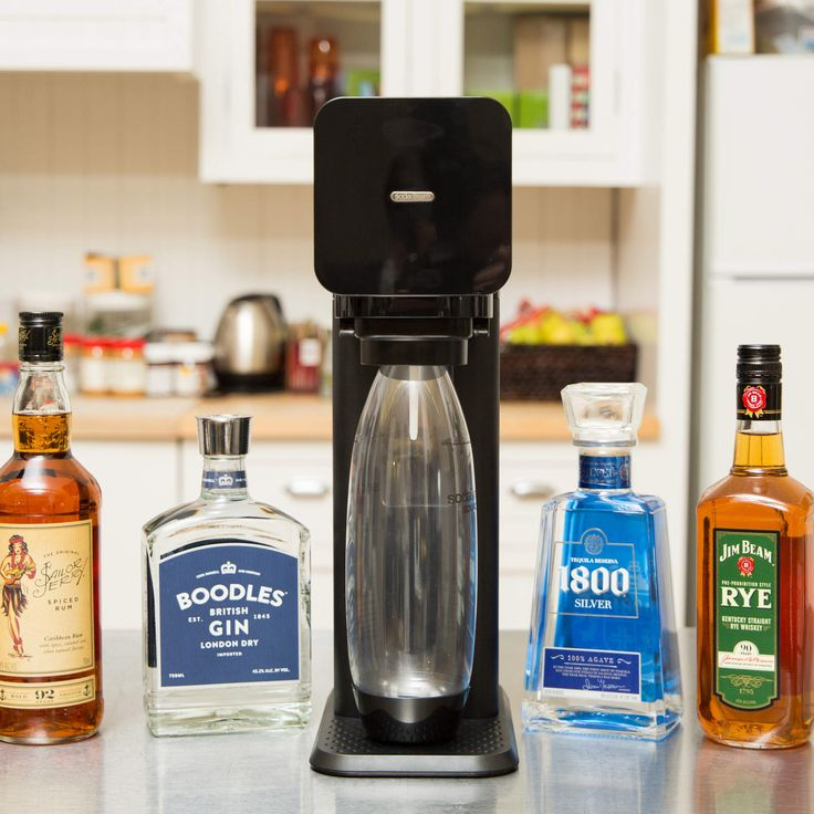 What happens when you put whiskey in a Sodastream? Magic.