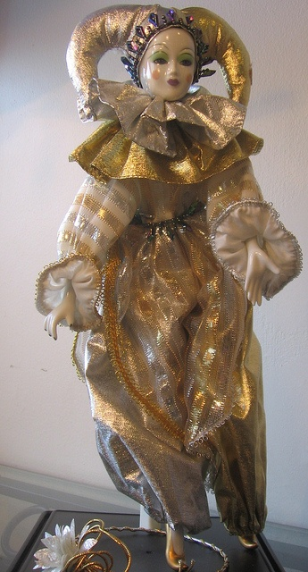 Camelot doll white clown by TheLivingRoominKenmore, via Flickr