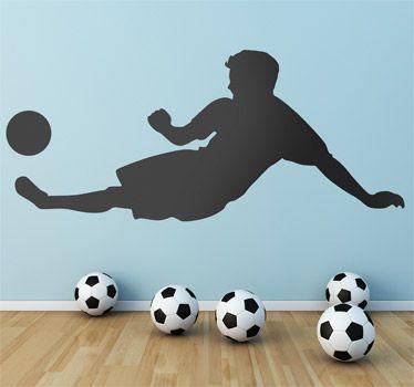 Vinil figura jugador futbol
