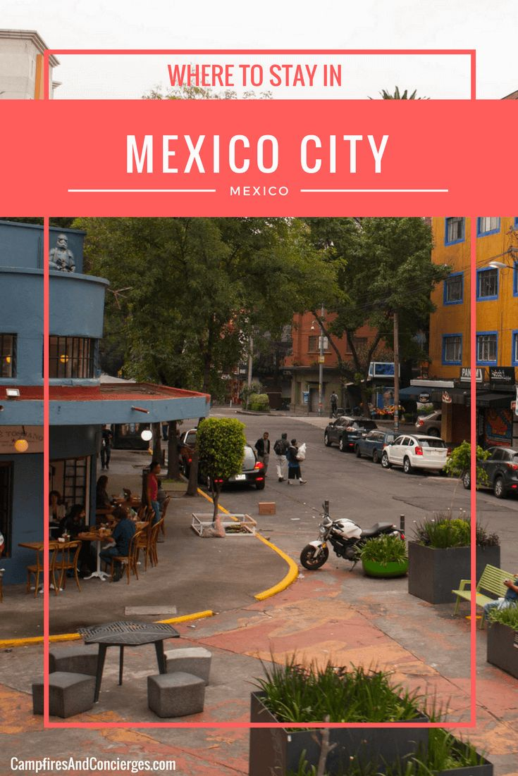Mexico City, Mexico | Where to stay in Mexico City | Mexico City Neighborhoods | Red Tree House Mexico City | Condesa Mexico City | Polanco Mexico City #mexicocity #condesa #polanco