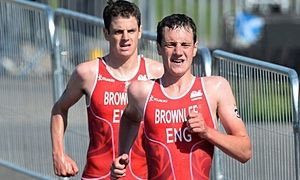 Leeds home grown triathlon stars- the Brownlee brothers