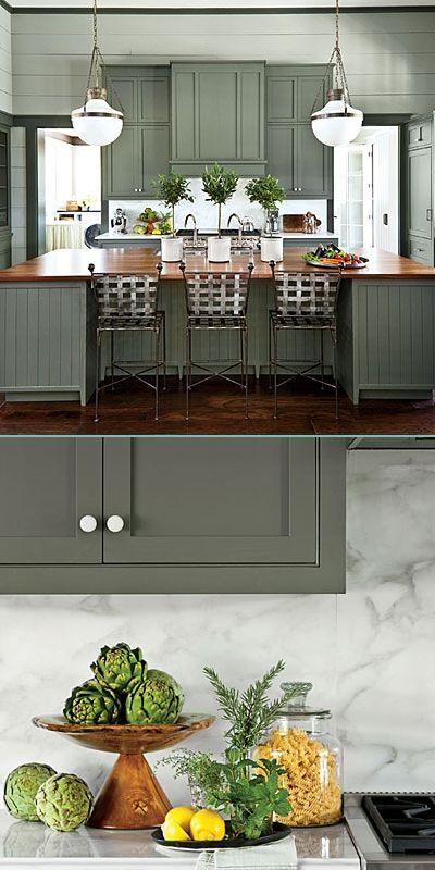 Best 25 Green Kitchen Cabinets Ideas On Pinterest