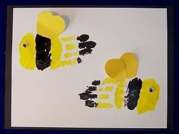 childcareland blog bumblebee craft