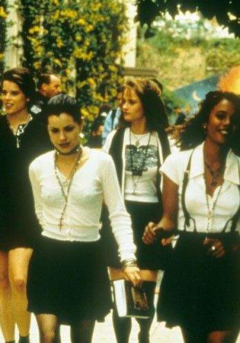 90's Style Icon. #nancy #thecraft #nipples