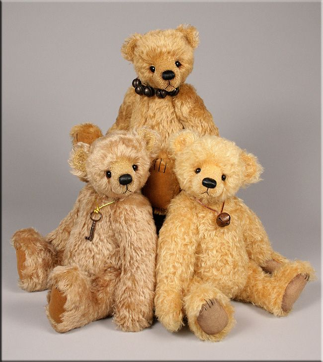 28 best online teddy bear shop images on pinterest plushies bear a trio of traditional teddy bears from giftsxpert altavistaventures Choice Image