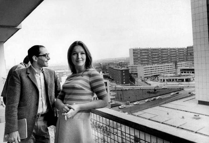 """""""Deux ou trois choses que je sais d'elle"""" - Marina Vlady, Jean-Luc Godard"""