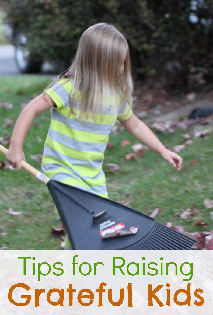Tips for Raising Grateful Kids!