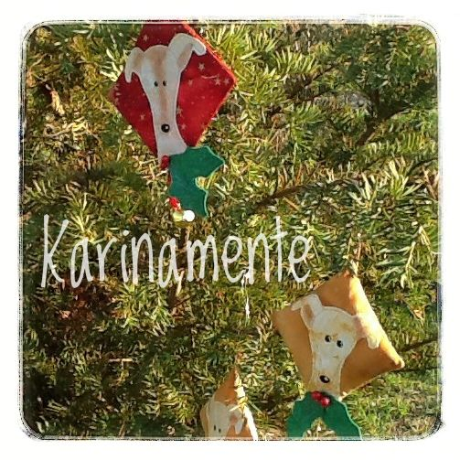 Whippet xmas ornaments