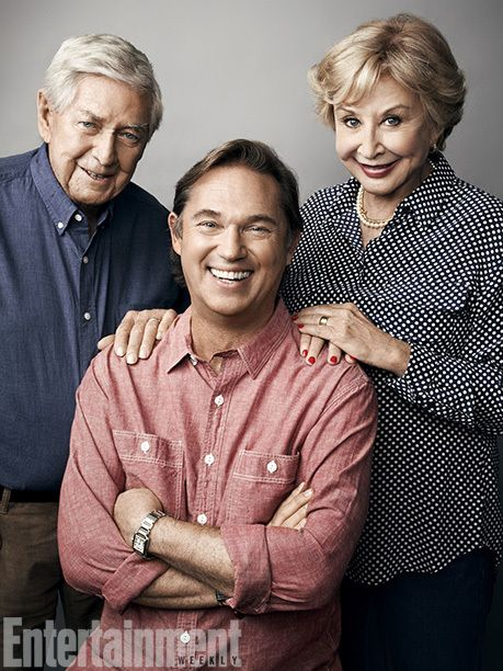 The Waltons (2013) Ralph Waite, Richard Thomas, and Michael Learned