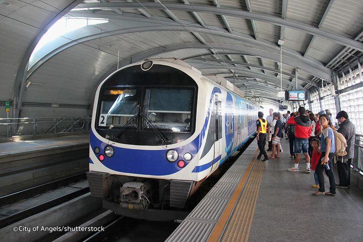 Bangkok Airport Link - Suvarnabhumi Airport Train Transfers to Bangkok