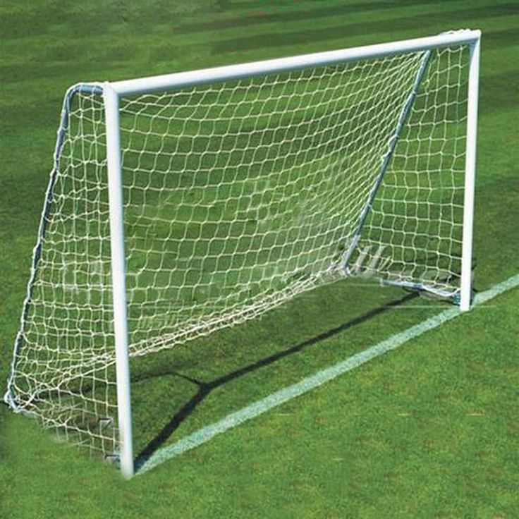 SEWS Football Soccer Goal Post Net 2.4x1.8m for Sports Training match Outdoor White - http://sportsgearmall.com/?product=sews-football-soccer-goal-post-net-2-4x1-8m-for-sports-training-match-outdoor-white