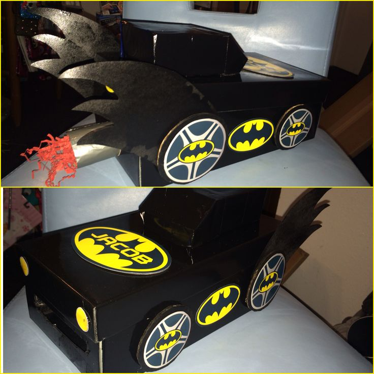 Batman Valentine Box Valentine Card Box School Project