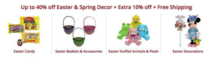 Kmart: 40% off Easter & Spring Decor + Extra 10% off + Free Shipping!! - http://www.savingwellspendingless.com/2015/03/21/kmart-40-off-easter-spring-decor-extra-10-off-free-shipping/