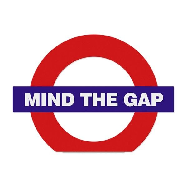 Trava Porta Mind The Gap Londres