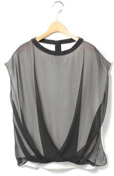 Silk combi blouse / ShopStyle(ショップスタイル): Tomorrowland シルクコンビ タックプルオーバー - shopstyle.co.jp