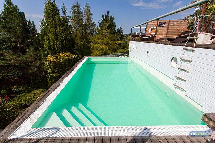 NIVEKO Multi » niveko-pools.com #lifestyle #design #health #summer #relaxation #architecture #pooldesign #gardendesign #pool #swimmingpool #niveko #pools #swimmingpools #nivekopools