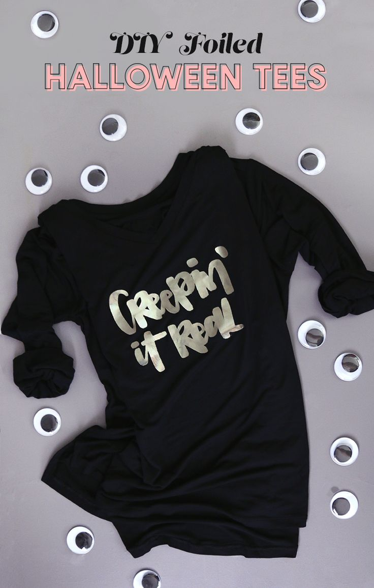 181 best halloween vinyl ideas images on pinterest - How to design your own shirt at home ...
