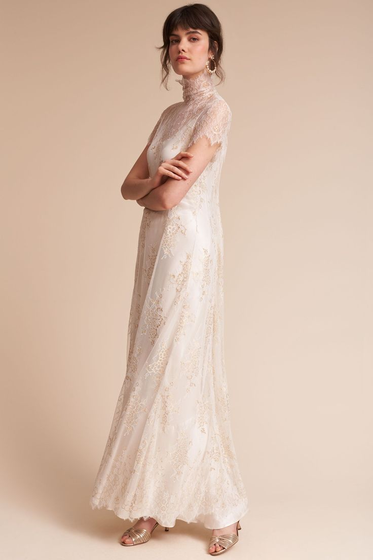 Bella Dress & Exalted Overdress from @BHLDN