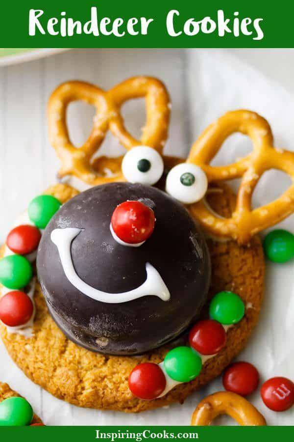 Easy Reindeer Cookies Recipe No Bake