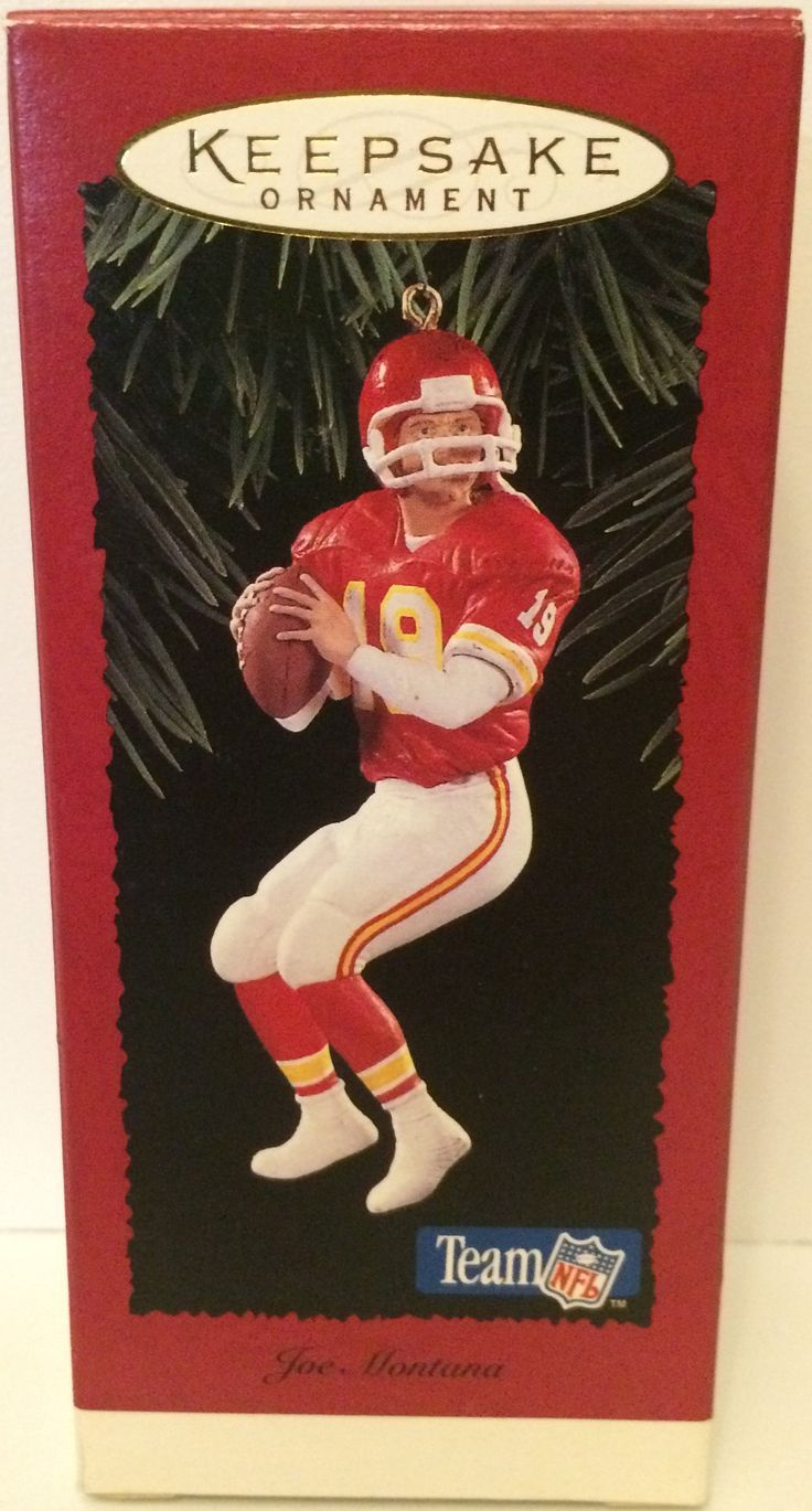 (TAS031165) - Hallmark Keepsake Ornament - Joe Montana NFL Chiefs