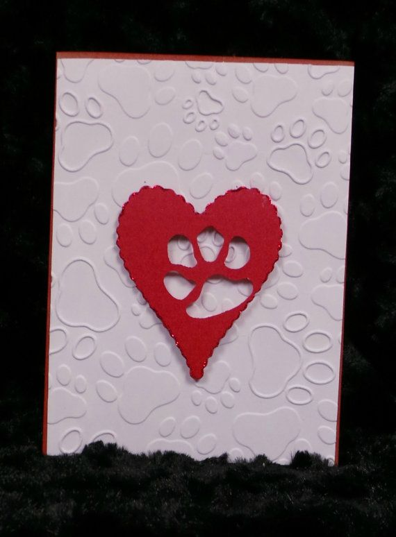 Handmade Sympathy Card for the loss of a pet.