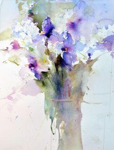 Resultat d'imatges de Ann Christin Moberg #watercolor